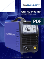 duralloy-cut-40pfc-mv-owner-s-manual