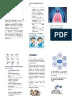 folleto enfermedades respiratorias