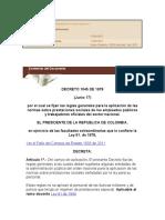Régimen Legal de Bogotá D