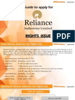 Reliance Rights Issue How to Apply.pdf