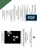 Beethoven Sandiford Francesco Renata programma