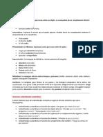 Estudios Comparativos (clases de verbos)