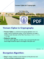 Vernam Cipher in Cryptography