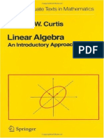 Curtis-Linear algebra.pdf