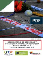 Boletín Digital 2. Violencia Intrafamiliar