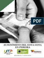 Boletín Impreso 3. Crimen Organizado
