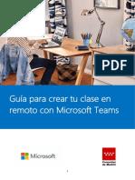 Guía rápida Microsoft Teams Madrid