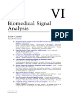 Biomedical Signals Origin and Dynamic Characteristics Frequency Domain Analysis Arnon Cohen Ben Gurion University