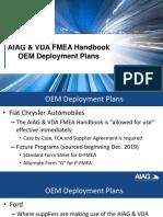 OEM Deployment Plans for AIAG & VDA FMEA Handbook - AIAG Quality Summit - 2 OCT 2019.pdf