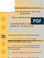 Administratia sistemica de produe fluorurate