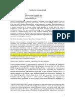 Alvarado, J. T. - Fundación y causalidad