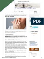 Cómo terminar con un mal hábito _ Web Salud