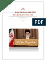 Mensaje del Día de Al-Quds 2020 del Líder supremo de Irán