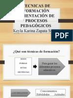 Actividad 3- implementacion de tecnicas formativas