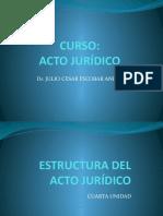 4 estructura del acto juridico
