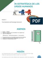 Clase 1 Planeación Estratégica de RRHH