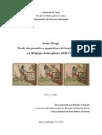 [Paques, Frédéric]  'Avant Hergé. Étude des premières apparitions de bande dessinée en Belgique francophone (1830-1914). T1 (Texte)' - Thèse doctorale (ULG, 2011)