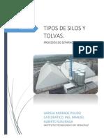 TIPOS DE SILOS Y TOLVAS
