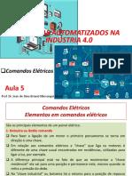 Sistemas automatizados na industria 4.0  aula 5