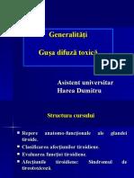 Prelegere Tiroida si GDT_Harea final modificat 12_2011.ppt