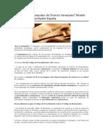 3.1 Exequátur de Divorcio Venezuela