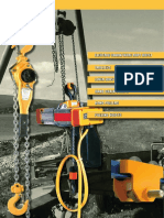 03. Chain hoists, trolleys, wire ropehoist, hand pullers
