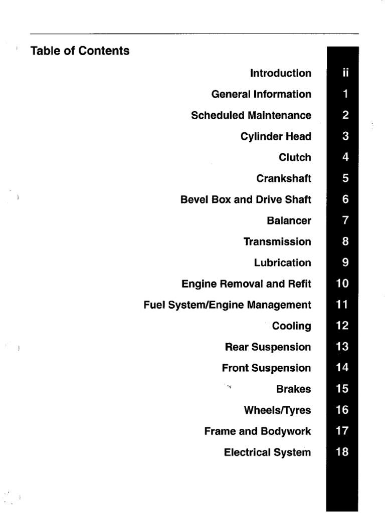 Triumph Rocket III Motorcycle Service Manual