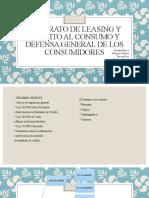 LEASING Y CRÉDITO AL CONSUMO