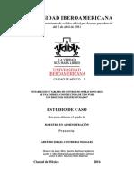 TABLERO DE CONTROL DE OPERACIONES A EMPRESA CONSTRUCTORA