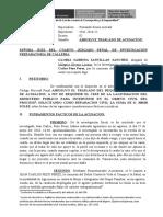 ABSOLUCIÓN DE ACUSACIÓN MILAGROS SILVANO