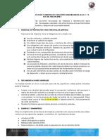 PROTOCOLO DE LIMPIEZA Y DESINFECCIÓN.