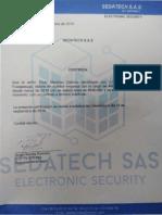 certificación laboral