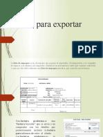 Pasos para expotar (1).pptx