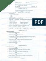 2017MAYB.Sc.,(Physics)THERMODYNAMICS AND STATISTICAL MECHANICS