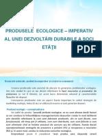C3 PRODUSE ECOLOGICE- ECOL-EC