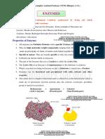ENZYMES COMPLETE NOTES (UNIT 5- B.Pharm 2nd Sem).pdf