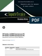 08 Service Manual -HP Pavilion Dv3000 - Dv3500