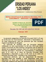 ESQUEMAS - PROCESO DE CONOCIMIENTO, ABREVIADO Y SUMARÍSIMO - 2019