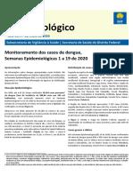 Boletim de dengue no DF