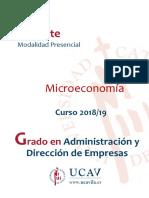 GUIA DE MICROECONOMIA 2018-02