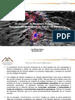 5 - Analisis de Rango de Recursos - L. Moreno - ALXAR Mineria