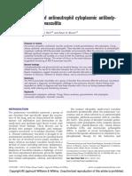 Treatment of antineutrophil cytoplasmic antibodyassociated vasculitis