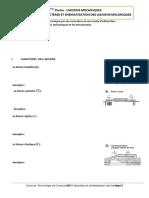CHAP 2- 1 - CARACTERES ET SCHEMATISATION DES LIAISONS