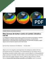 Diez formas de luchar contra el cambio climático con IA _ MIT Technology Review en español