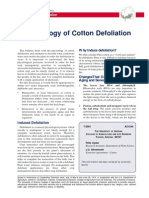 Physiology of Cotton Defoliation