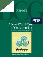 Boston Consulting Group Global Consumer Behavior 2010