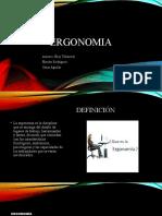 ERGONOMIA diapositivas