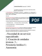 Delegación y desconcentración Sentencia C