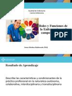 Roles y Funciones de la Enfermería salud bienestar