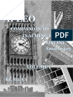 Companion to teaching English online, volume 1 – B1, B2, C1 TB